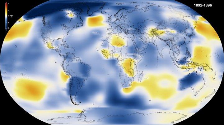 NASA - Temperatura de la Tierra