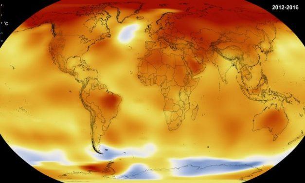 Vídeo de la NASA muestra el cambio dramático de la temperatura en nuestro planeta desde 1880 hasta el presente