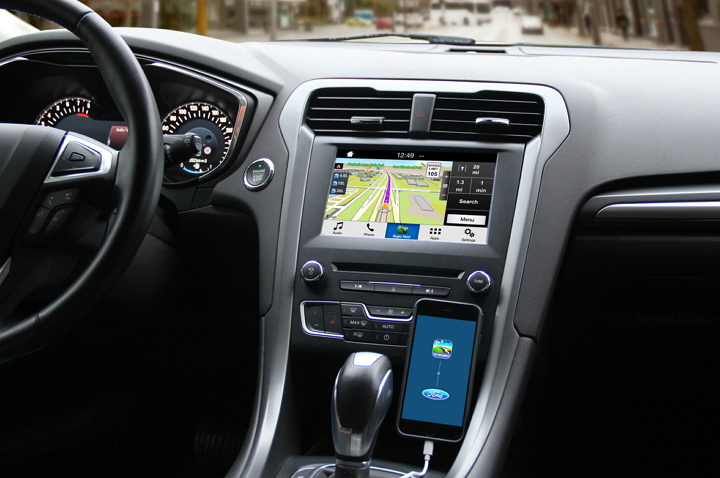 Ford SYNC Applink - Sygic