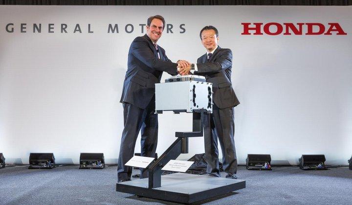 Honda y GM producirán en conjunto un nuevo sistema avanzado de pila de combustible de hidrógeno