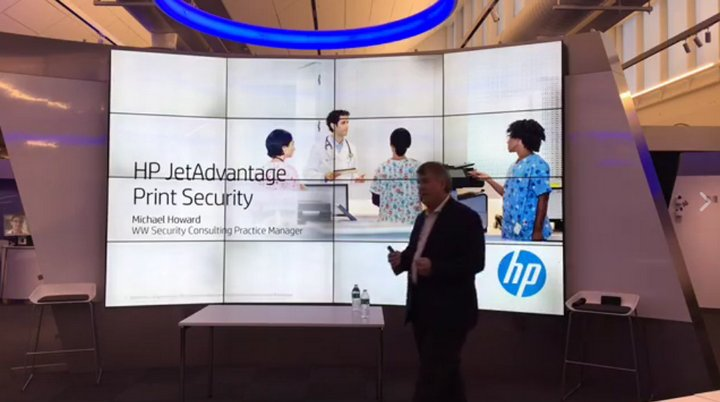Michael Howard - HP JetAdvantage Print Security