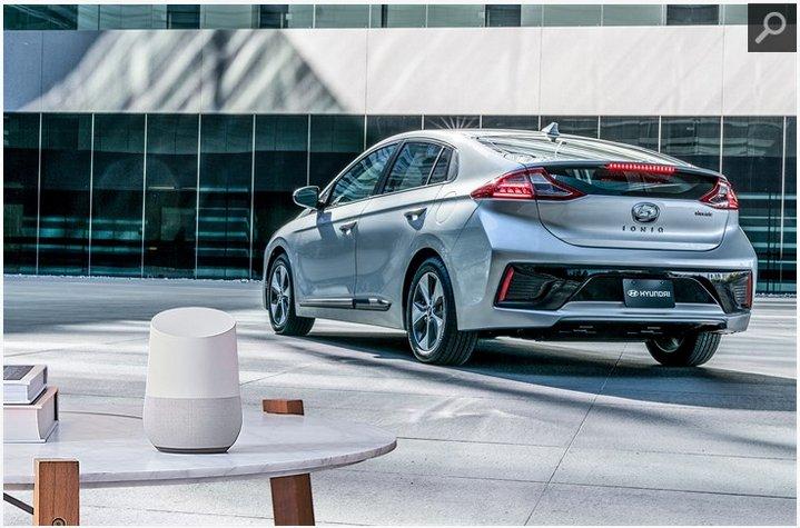 Hyundai Ioniq - Google Home