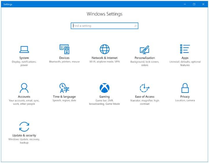 Windows 10 Juegos