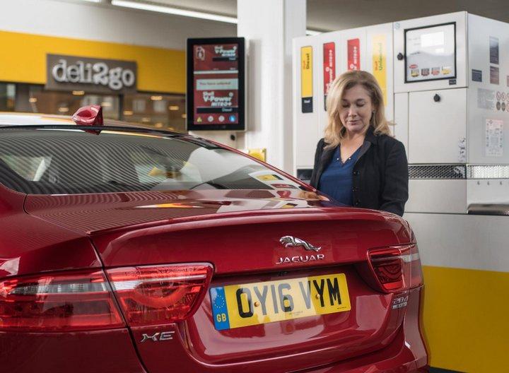 Jaguar Shell Pagos desde el vehículo