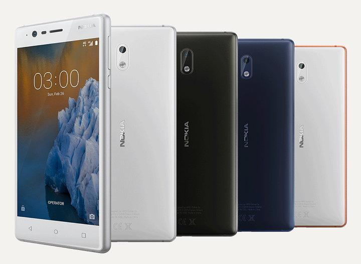 Smartphones Nokia 3