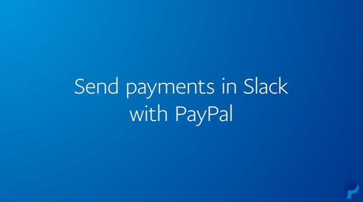 Paypal P2P Slack