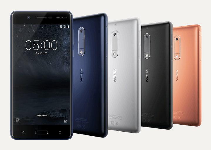 Smartphones Nokia 5