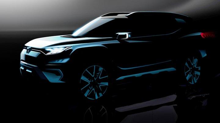 SsangYong XAVL (Concepto de SUV Mediano)