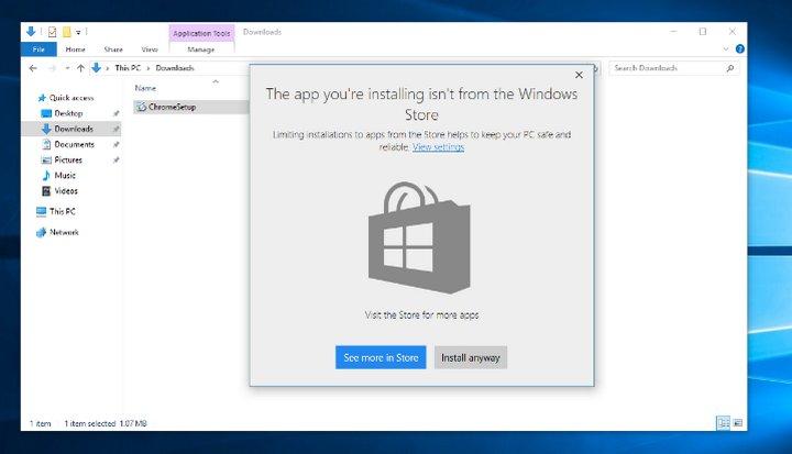 Actualización de Creadores Windows 10