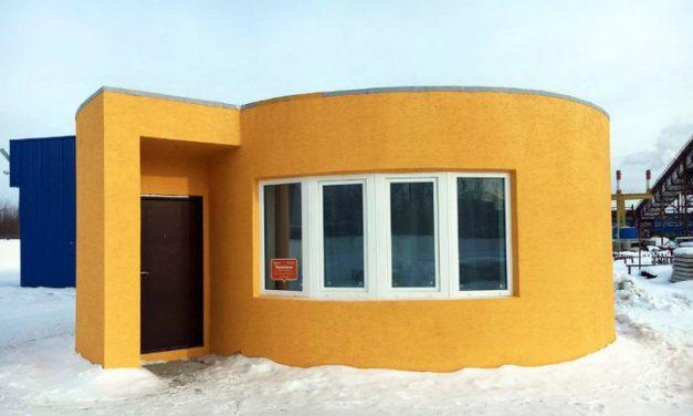 Construyen una casa completa con impresión 3D, sobre el terreno propio y en tan solo 24 horas