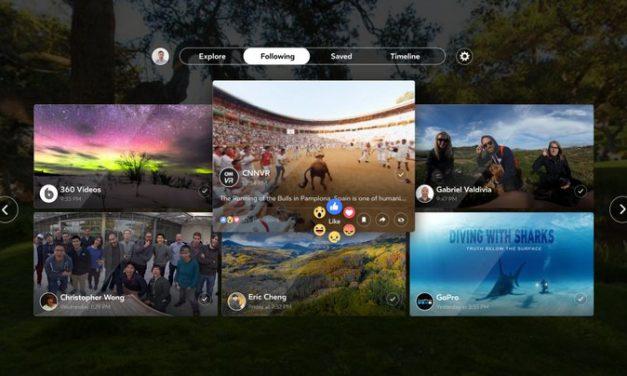 Facebook anuncia su primer aplicación de realidad virtual: Facebook 360