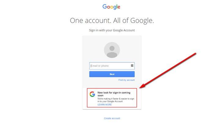 Google Inicio de Sesión
