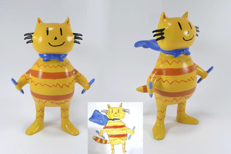 Muñeco 3D