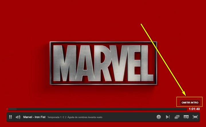 Netflix Omitir Intro
