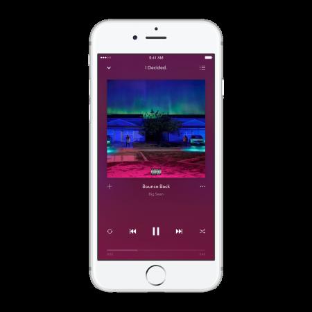 Pandora Premium Now Playing Artwork