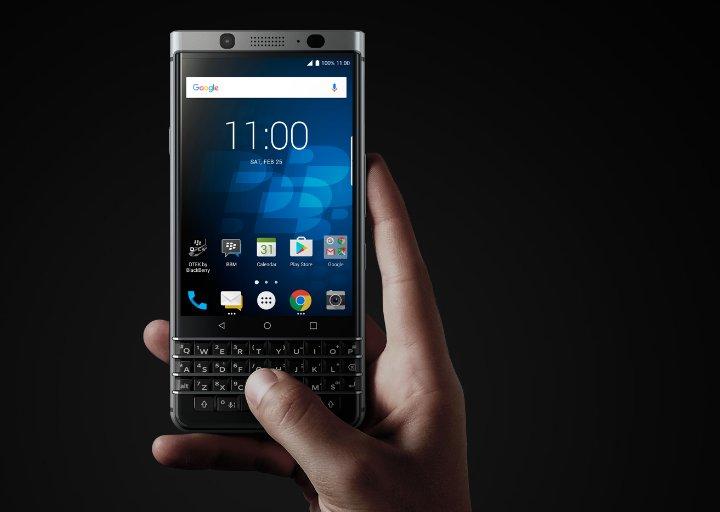 Blackberry regresa en el 2021 de la mano de OnwardMobility con un terminal Android, 5G y teclado físico