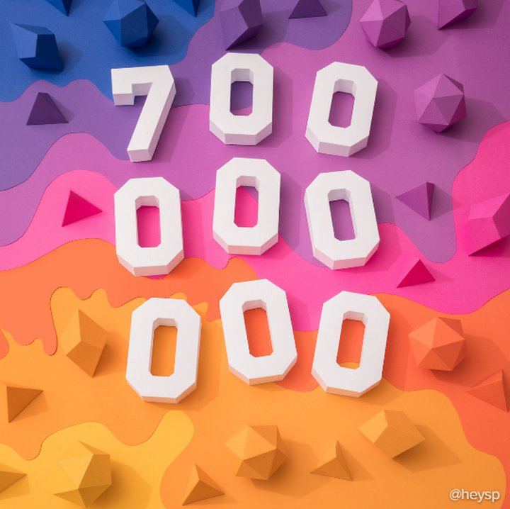 Instagram 700 millones de usuarios