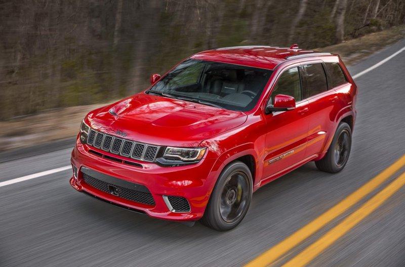 Jeep Cherokee Trackhawk 2018