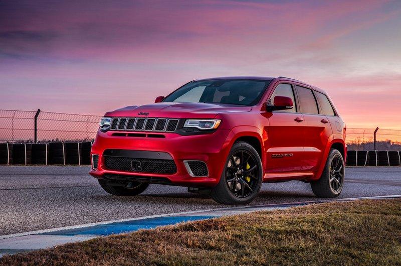 Jeep Grand Cherokee Trackhawk, el SUV más potente y rápido de la historia