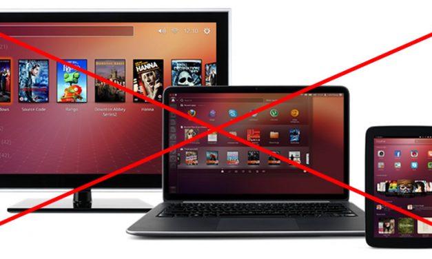 Se cancela proyecto de convergencia Ubuntu Unity8
