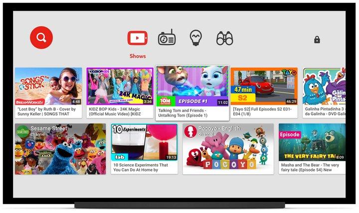Youtube Kids Smart TVs