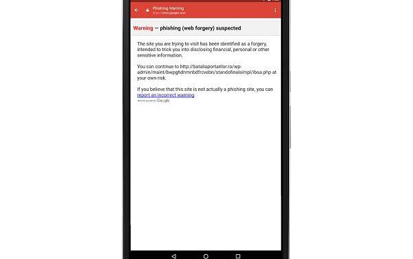 Google actualiza Gmail Android para combatir ataques de phishing