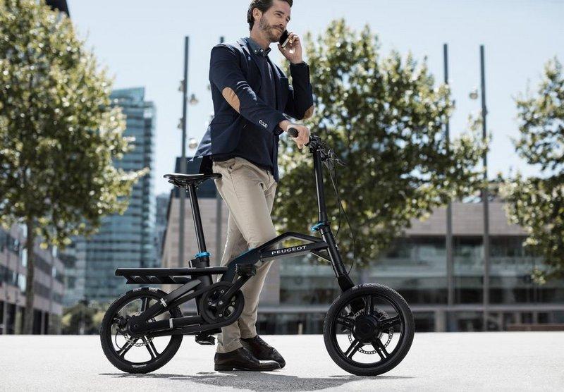 Bicibleta Híbrida Peugeot eF01