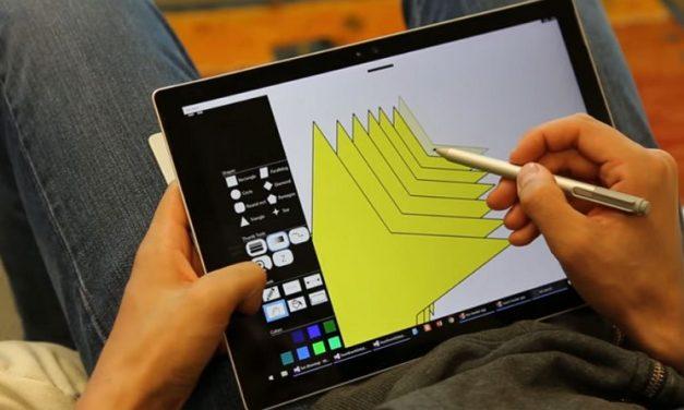 Microsoft Research muestra interacción simultánea (pulgar y stylus) en tabletas Windows 10