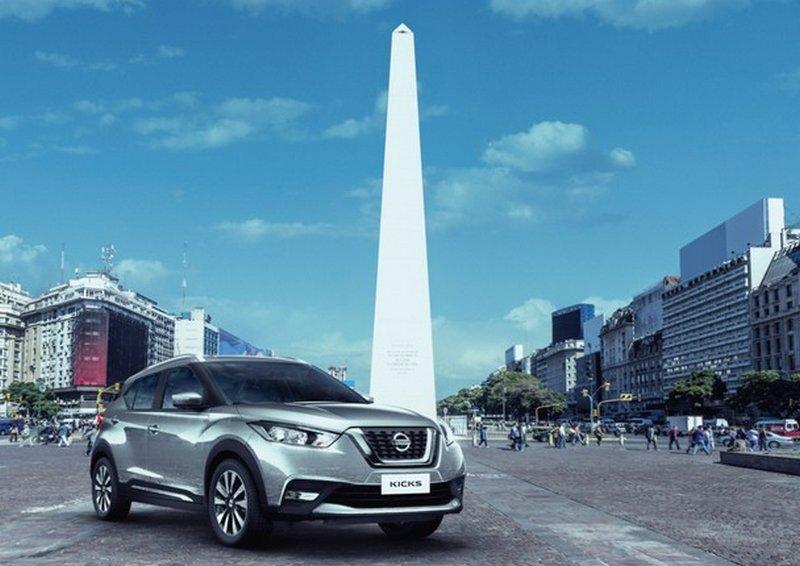 En Julio, el crossover Nissan Kicks será lanzado en el mercado argentino