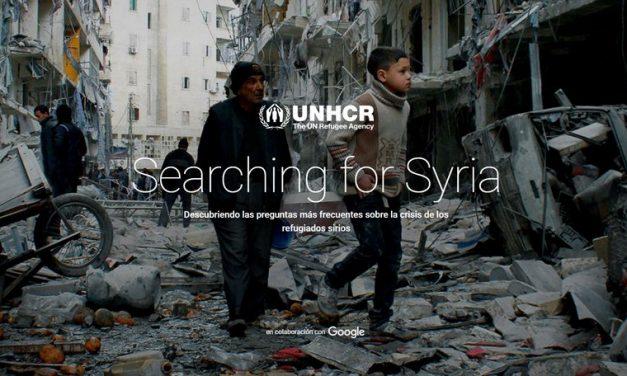 Buscando por Siria, nuevo proyecto de Google y la UNHCR con imágenes 360, vídeos y más