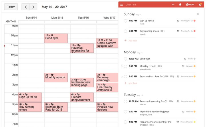 Todoist - Google Calendar