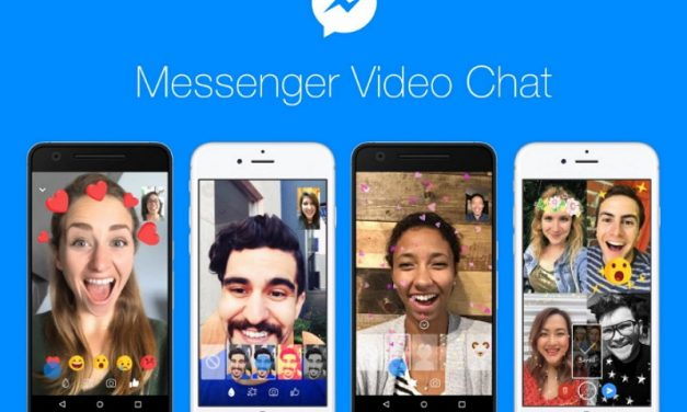 Facebook Messenger introduce reacciones animadas, máscaras y filtros en los vídeo chats
