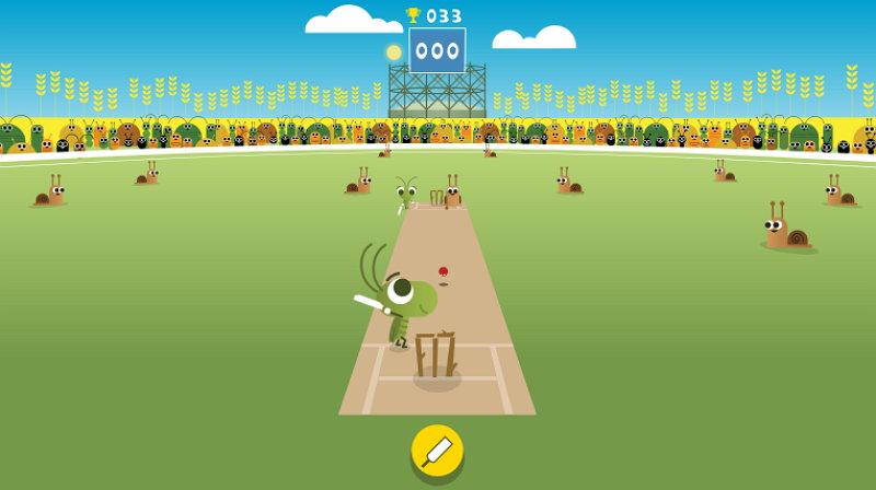 Doodle de Google - Críquet