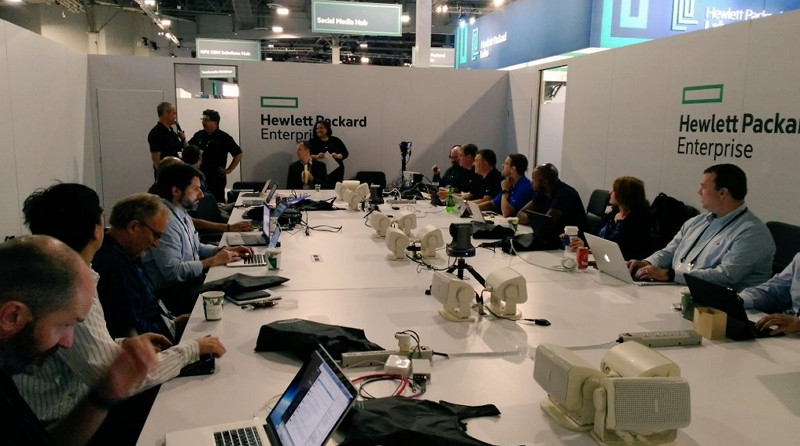 HPE Discover 2017 - Coffee Talks