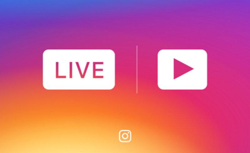 Instagram Live Video - Historias