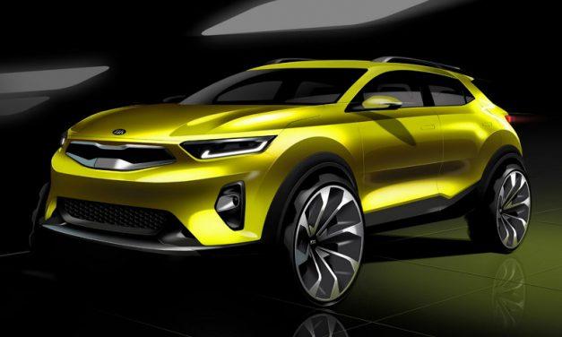 Kia muestra los primeros dibujos del nuevo crossover Kia Stonic