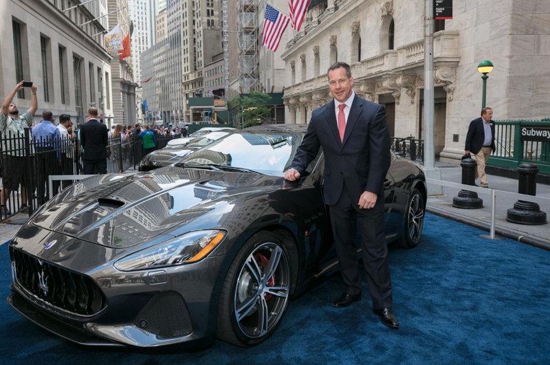 Maserati CEO Reid Bigland - Maserati GranTurismo MY 2018