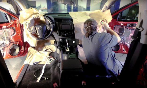 Timelapse de la construcción del concepto Nissan Frontier Attack, presentada en el Salón del Automóvil de Buenos Aires