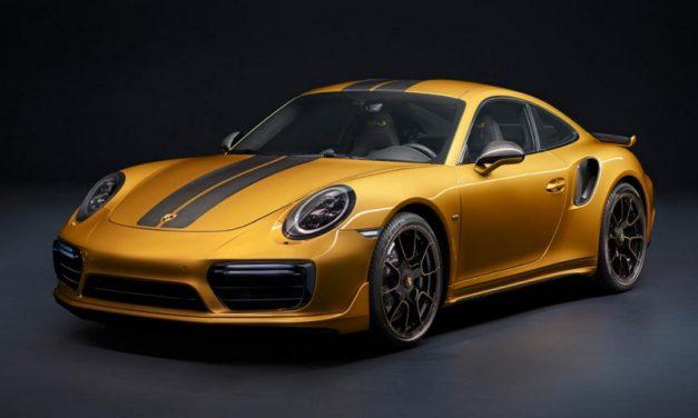 El nuevo Porsche 911 Turbo S Exclusive Series es potente y lujoso