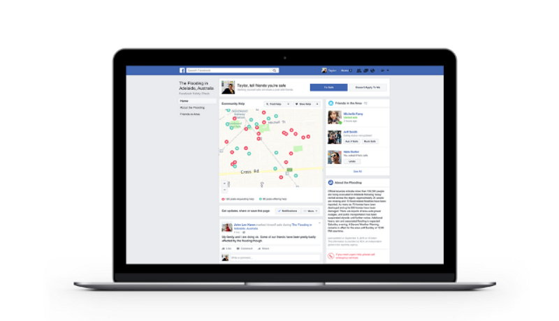Facebook presenta 4 novedades en Safety Check""