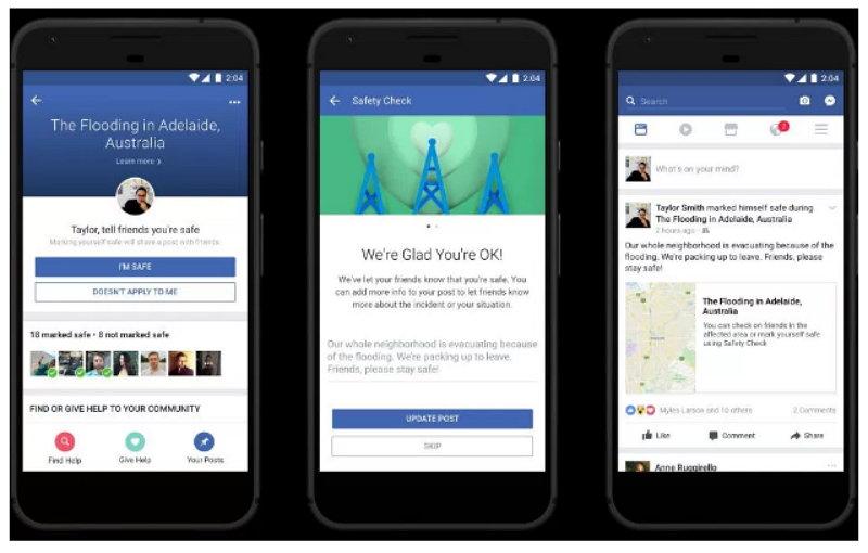 Facebook - Comprobación del Estado de Seguridad - Nota Personal