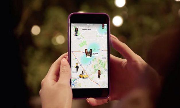 Snapchat introduce Snap Map, para compartir localización con amigos