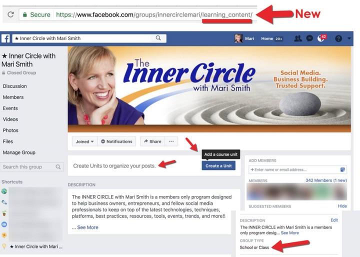 Grupos de Facebook - Cursos en Línea