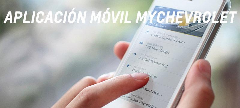 Chevrolet - Aplicación Móvil myChevrolet