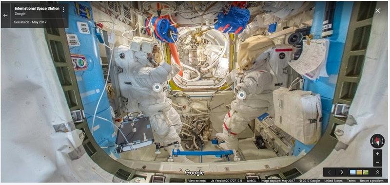 Estación Espacial Internacional - Google Street View