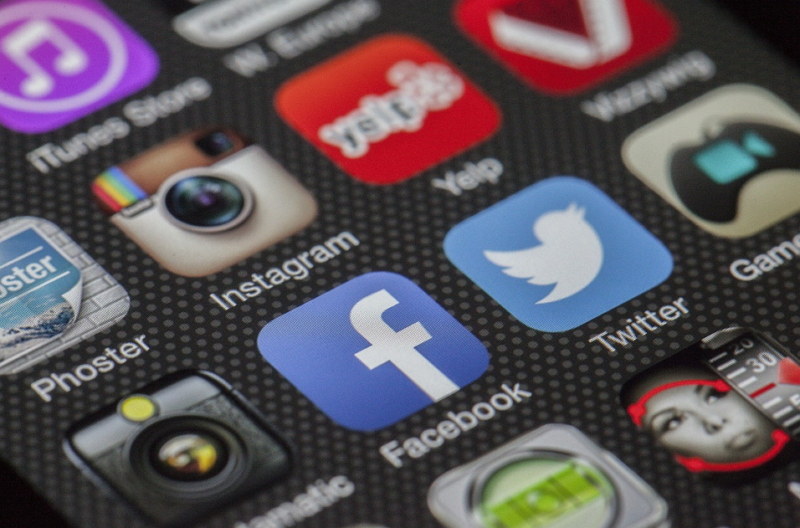 Facebook Logo App Móvil