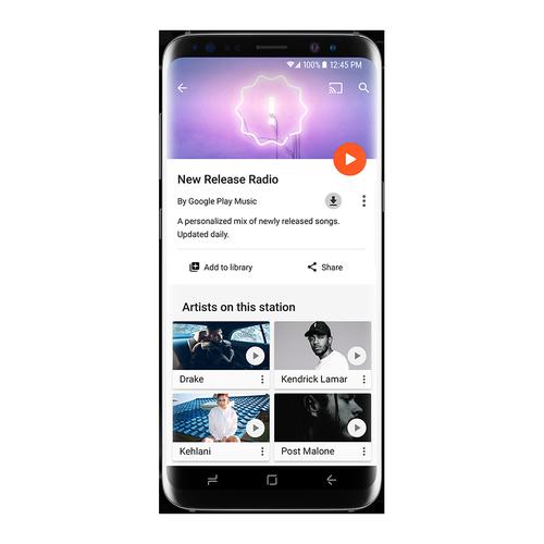 Google Play Music - New Release Radio