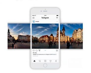 Unsquared - Panoramas para Instagram