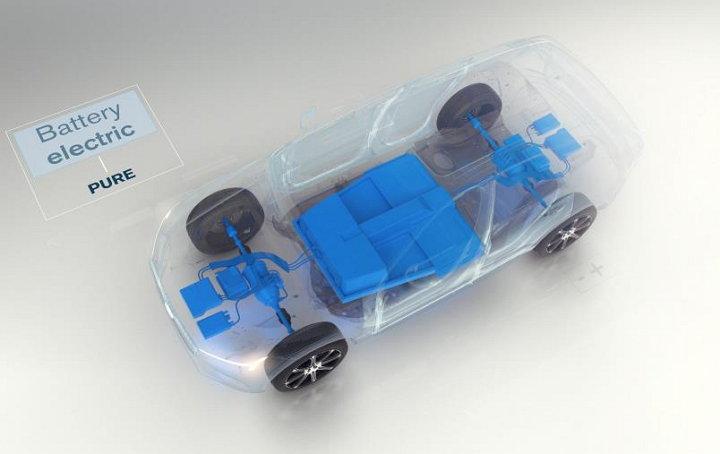 Volvo Cars - Vehículo con motor eléctrico (Puro)