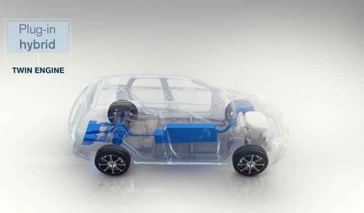 Volvo Cars - Vehículo con motor eléctrico (Híbrido)
